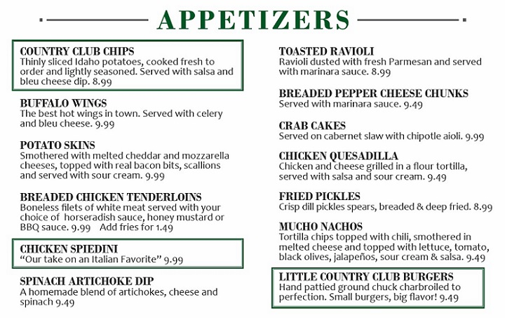appetisers and salads answers pdf
